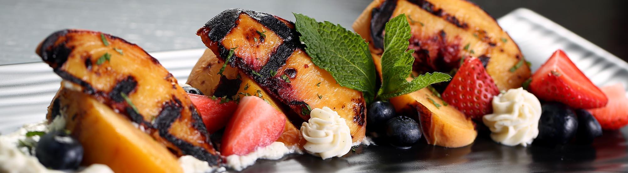 grilled fruit